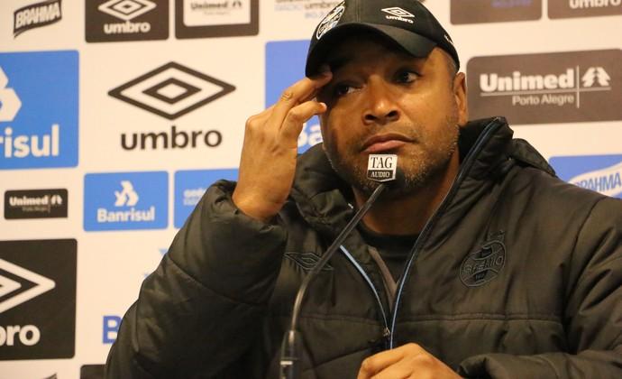 Roger Machado, técnico do Grêmio (Foto: Beto Azambuja / GloboEsporte.com)