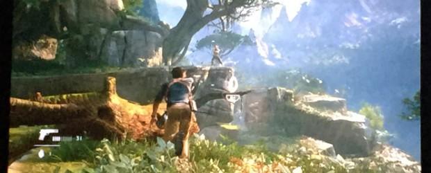 'Uncharted 4' tem cenários amplos, com mais de uma possibilidade de conclusão (Foto: Bruno Araujo/G1)