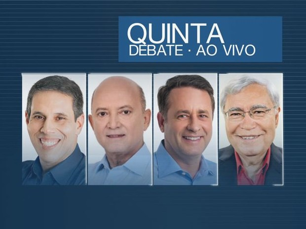 Debate acontece na TV Gazeta, nesta quinta-feira (29) (Foto: Arte/ TV Gazeta)