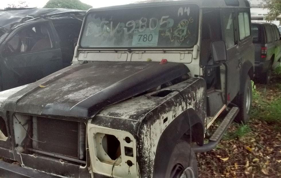 Land Rover Defender (Foto: Divulgação)