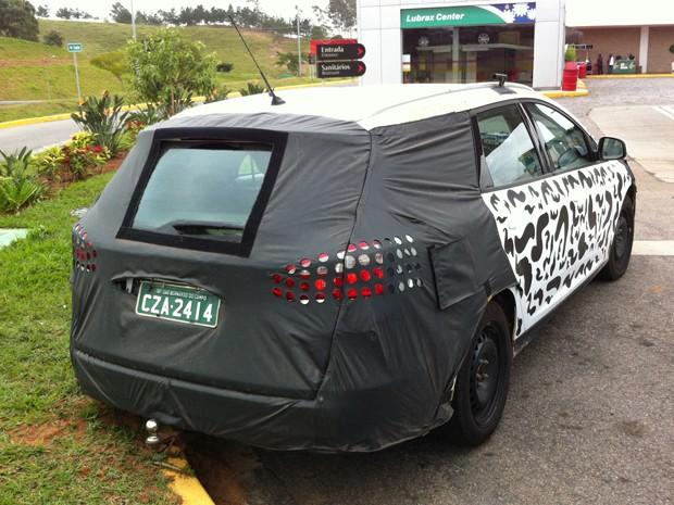 Perua Focus completaria gama do modelo, também formado pelas carrocerias hatch e sedã (Foto: Rodrigo Mora/G1)