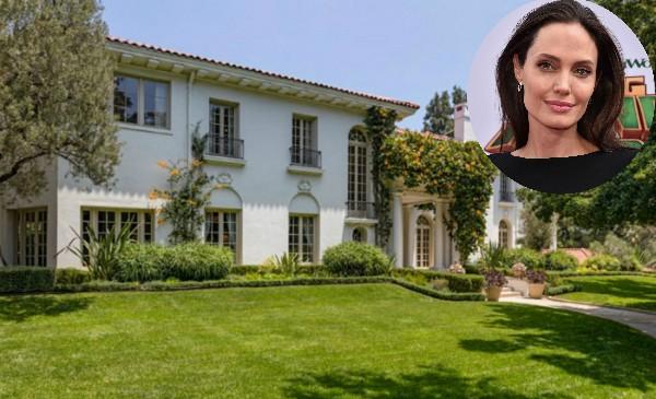 Nova casa de Angelina Jolie, em Los Angeles (Foto: Reprodução/ Hilton & Hyland)