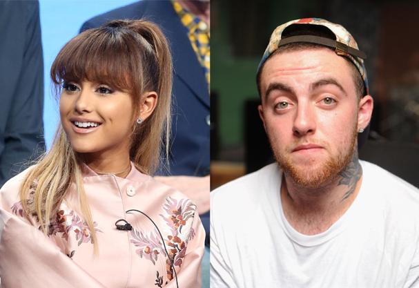 Ariana Grande e Mac Miller (Foto: Frederick M. Brown e Jamie McCarthy / Getty Images )