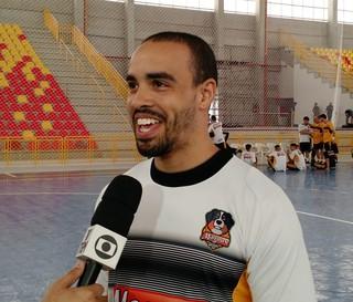 Diego, pivô do Sorocaba Futsal (Foto: Emilio Botta)