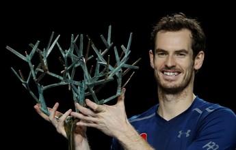 Andy Murray bate Isner em Paris e leva o primeiro título como novo número 1