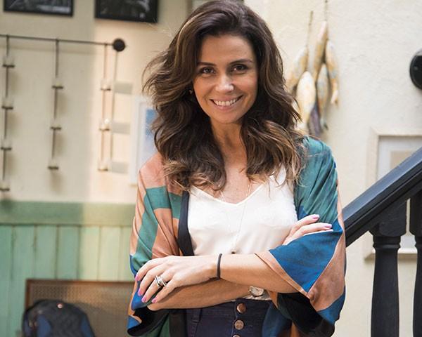 Giovanna Antonelli é Alice em Sol Nascente (Foto: Divulgação/TV Globo)