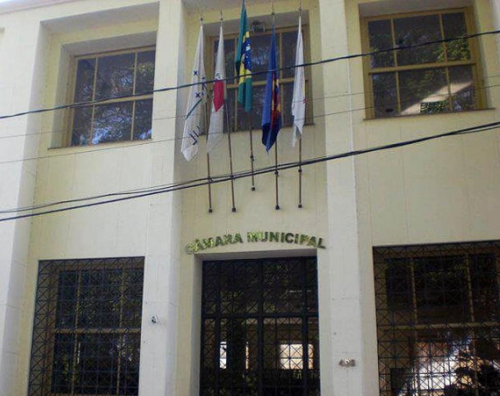 Câmara Municipal de Cataguases (Foto: Câmara de Cataguases/Divulgação)