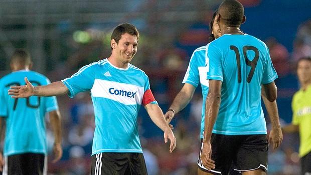 Messi, Pelada (Foto: Agência Reuters)