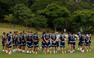 Palmeiras Atibaia reunião (Foto: Cesar Greco/Ag Palmeiras/Divulgação)