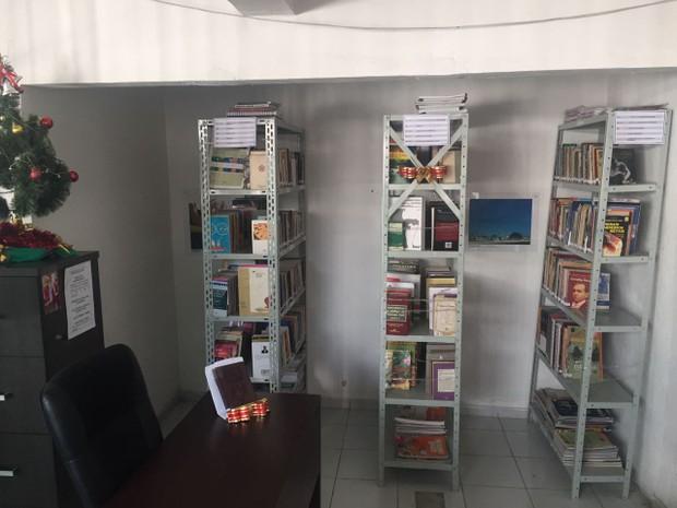 Complexo Penal João Chaves inaugura Biblioteca D. Militana (Foto: Divulgação/Sejuc)