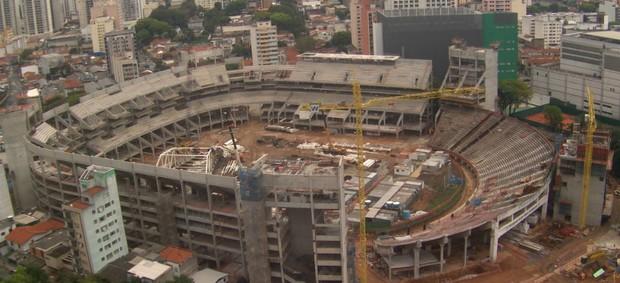 Arena Palestra (Foto: Divulgação / WTorre)