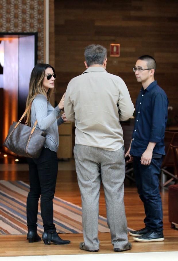 Cleo Pires e Orlando Morais (Foto: Fabio Moreno / AgNews)