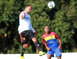 Alecsandro Jogo treino Flamengo e Madureira (Foto: Gilvan de Souza / Flamengo)