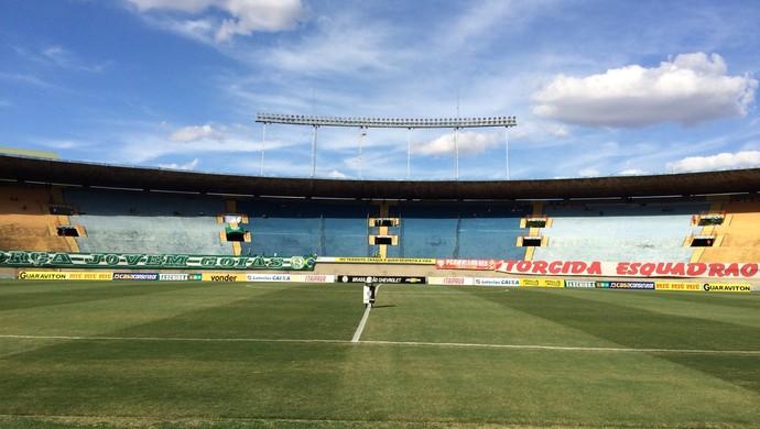 Estádio Serra Dourada - Vila Nova x Goiás (Foto: Guilherme Gonçalves / GloboEsporte.com)