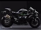Kawasaki mostra primeira imagem da versão de rua da Ninja de 300 cv