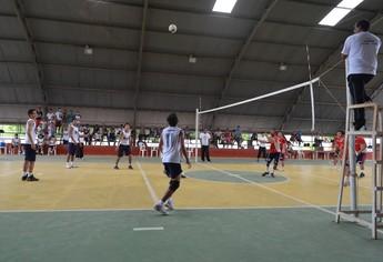 Jogos Escolares Vôlei (Foto: Lia Anjos - GLOBOESPORTE.COM)