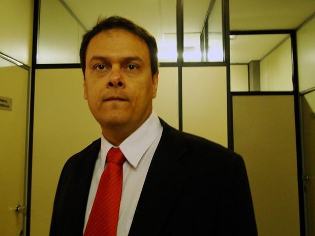 Alexandre Magno Alves de Sousa, procurador municipal de Natal, acusado de corrupção passiva (Foto: Ricardo Araújo/G1)