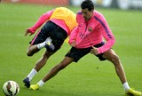 Sergio Busquets Barcelona treino