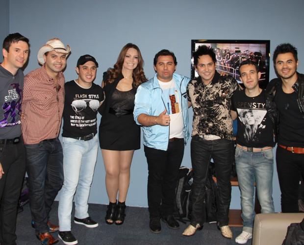 Atrações musicais deste Domingão (Foto: Domingão do Faustão / TV Globo)