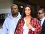 Kim Kardashian faz programa com Kanye West e Kourtney Kardashian