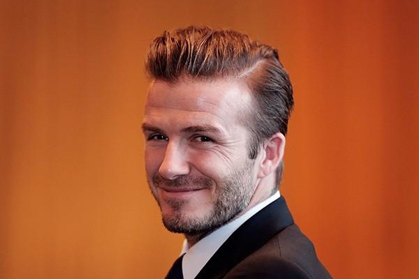 Com ou sem barba David Beckham é David Beckham. Victoria é uma mulher de sorte! (Foto: Getty Images)