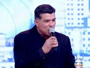 Maurício Mattar se apresenta no Encontro  (Foto: Encontro com Fátima Bernardes/TV Globo)