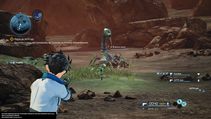 Sword Art Online: Fatal Bullet: há muito para se fazer na simulação de MMO (Foto: Reprodução/Victor Teixeira)