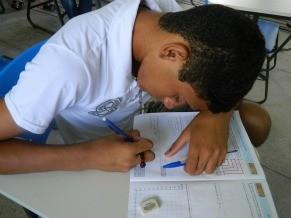 As provas da OBMEP visam estimular o estudo da Matemática (Foto: Divulgação)