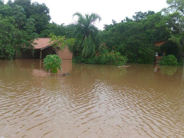 Dois Irmãos do Buriti MS decreta situação de emergência devido às chuvas (Foto: Ronaldo Angelo/Defesa Civil de Dois Irmãos do Buriti)