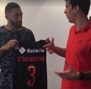 Cesar Martins Marcelinho (Foto: Reprodução)
