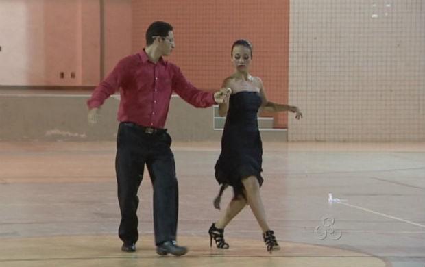 Festival de Luta e Dança na Unifap (Foto: Reprodução/TV Amapá)