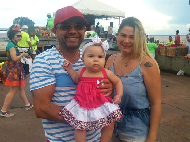 Carnaval, Tucuju, Festa, Orla de Macapá, Marabaixo, Batuque, Macapá, Amapá (Foto: Jorge Abreu/G1)
