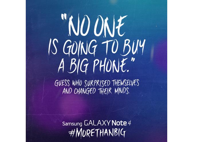 Samsung alfinetou o novo iPhone (Foto: Reprodução)