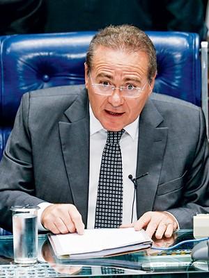 O presidente do Senado, Renan Calheiros (PMDB-AL) (Foto: Pedro Ladeira/Folhapress)