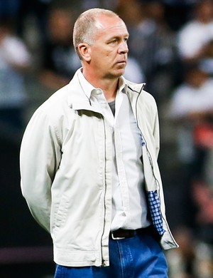 Mano Menezes Corinthians x Santos (Foto: Getty Images)