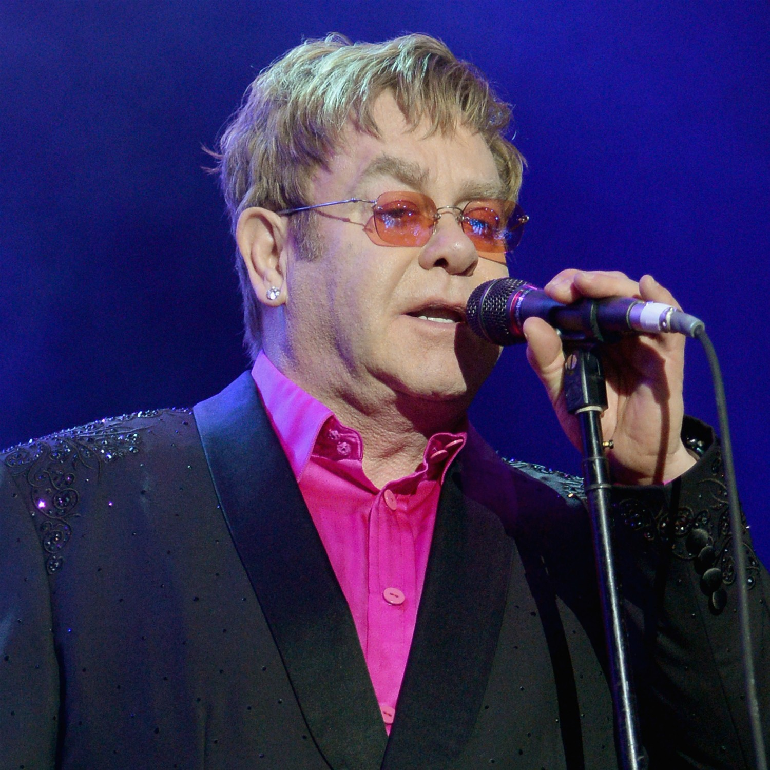 Elton John foi batizado como Reginald Kenneth Dwight. (Foto: Getty Images)
