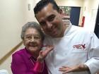 Palmirinha conhece Cake Boss: 'Foi muito emocionante'