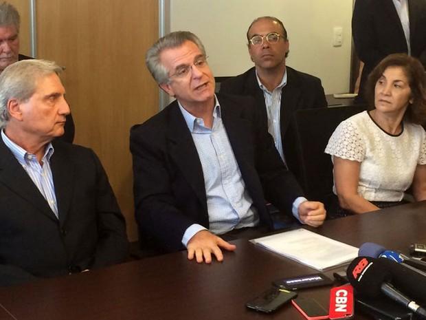 Vereador Andrea Matarazzo anuncia filiação ao PSD  (Foto: Tahiane Stochero/G1)