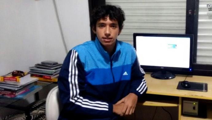 Cartola F.C Rodrigo Nascimento líder da rodada (Foto: Arquivo Pessoal)