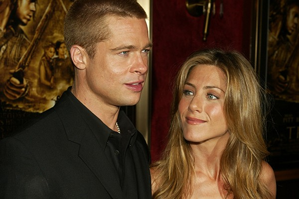 Brad Pitt e Jennifer Aniston (Foto: Getty Images)