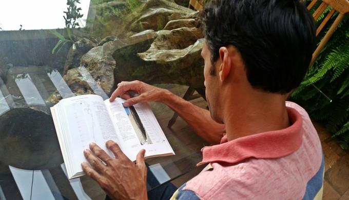Raul Quintiliano, alpinista (Foto: Régis Melo)