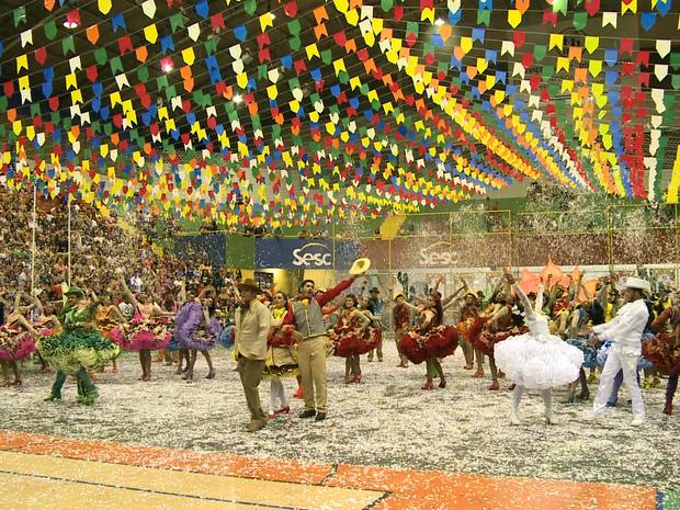 Quadrilha Danado de Bom (Foto: Reprodução/TV Grande Rio)