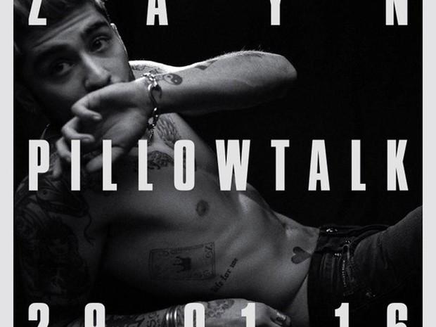 Imagem de divulgação de 'Pillowtalk', primeiro single de Zayn após ter deixado o One Direction (Foto: Divulgação)