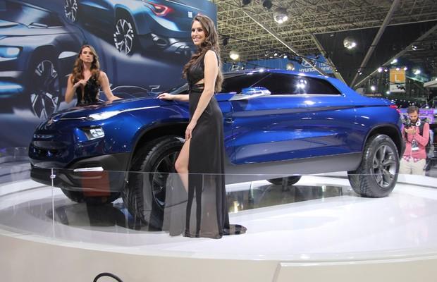 Fiat FCC4 no Salão do Automóvel (Foto: Gustavo Maffei/Autoesporte)