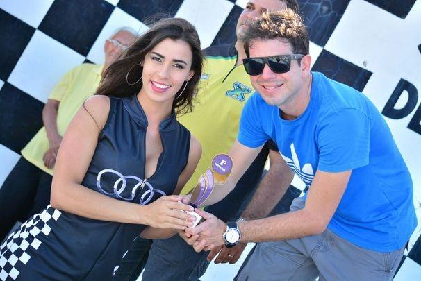Jornalista do Globo Esporte SE vence Campeonato Sergipano de Kart (Foto: Joás Sanct)