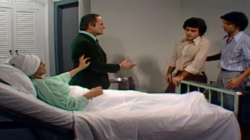 Gilda pede a Nuno e Andr que faam as pazes (Foto: Reproduo/viva)