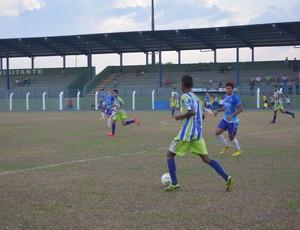 Ariquemes e Espigão pelo primeiro jogo da semifinal do Sub-20 (Foto: Jeferson Guedes)