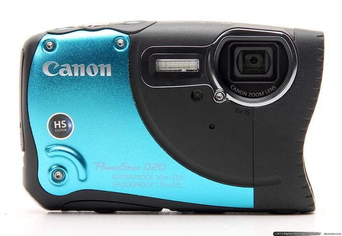 A Powershot D20 é uma câmera resistente (Foto: Divulgação/Canon)