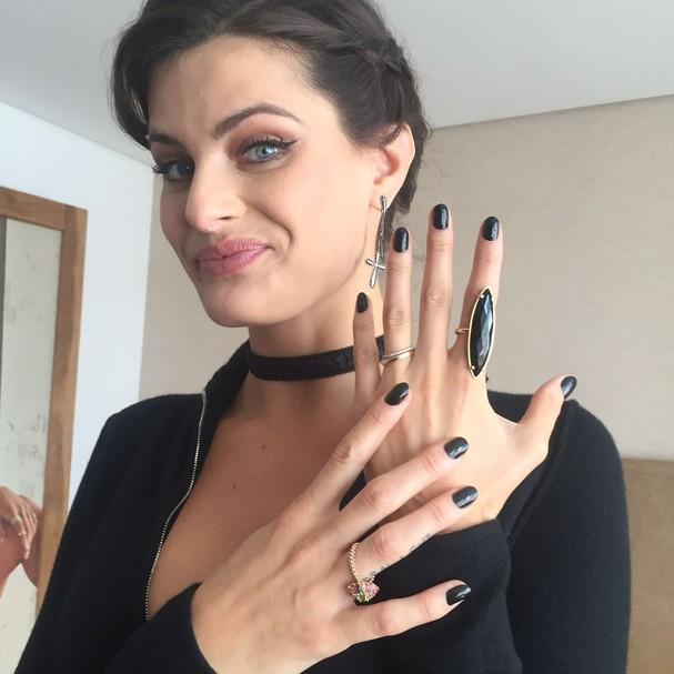 Isabeli Fontana  (Foto: Glamour )