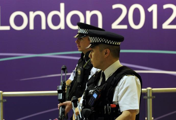 Segurança Londres 2012 (Foto: EFE)